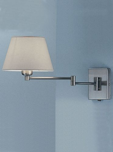Franklite WB503/9004 Satin Nickel Wall Light